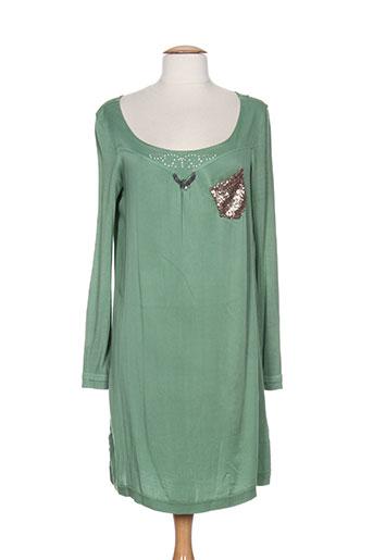 elisa et cavaletti robes et courtes femme de couleur vert