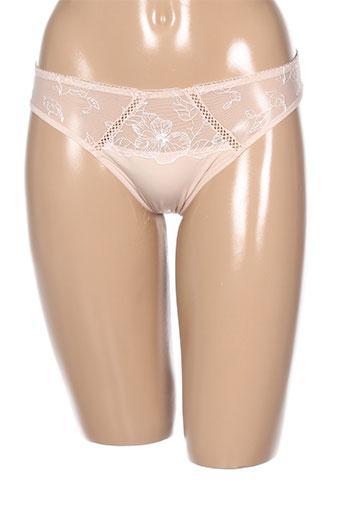 antinea slips et culottes femme de couleur beige