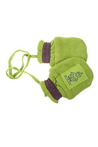 Gants vert LA TRIBBU pour enfant