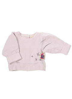 Sweat-shirt rose LA TRIBBU pour fille