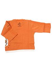 T-shirt manches longues orange LA TRIBBU pour garçon seconde vue