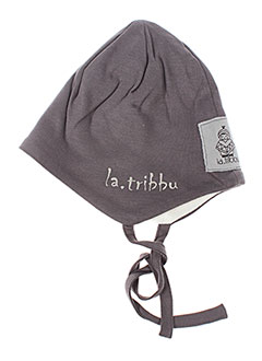 Chapeau gris LA TRIBBU pour garçon