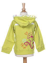 Veste casual vert LA TRIBBU pour fille seconde vue