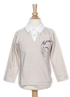 T-shirt manches longues gris LA TRIBBU pour garçon