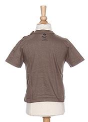 T-shirt manches courtes vert LA TRIBBU pour garçon seconde vue