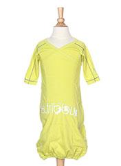 Robe longue vert LA TRIBBU pour fille seconde vue