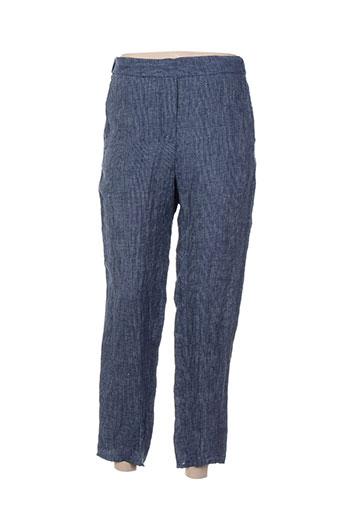 diega pantalons femme de couleur bleu