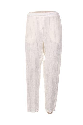 diega pantalons femme de couleur beige