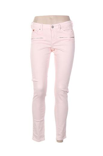 maison et scotch pantalons et decontractes femme de couleur rose
