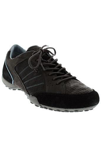 geox baskets homme de couleur noir
