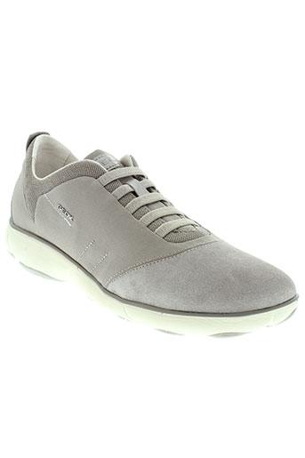 geox baskets homme de couleur gris