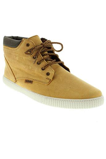victoria chaussures homme de couleur jaune