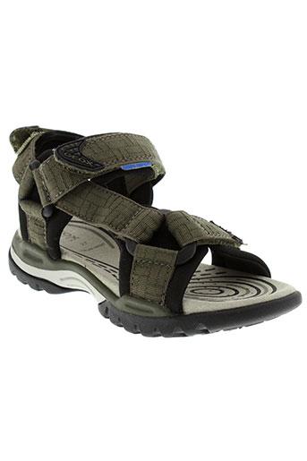 geox sandales et nu et pieds garcon de couleur vert
