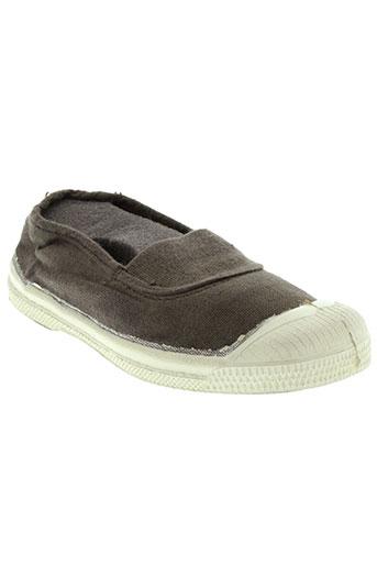 bensimon chaussures enfant de couleur marron