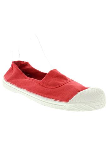 bensimon chaussures femme de couleur orange