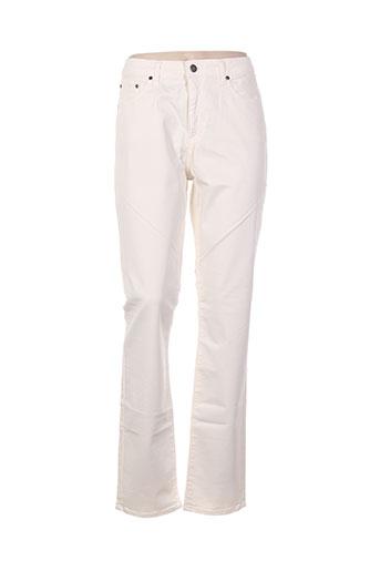 kanope pantalons femme de couleur beige