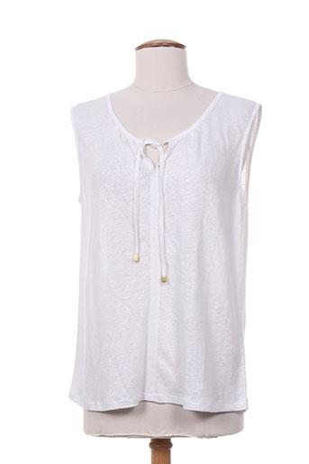 escorpion chemises femme de couleur blanc