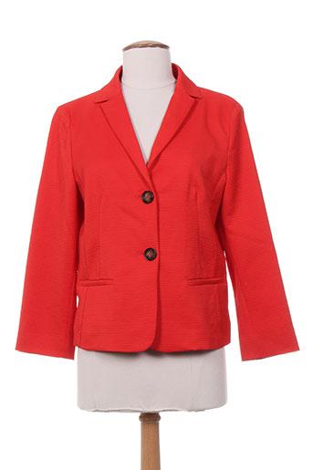 i blues vestes femme de couleur rouge