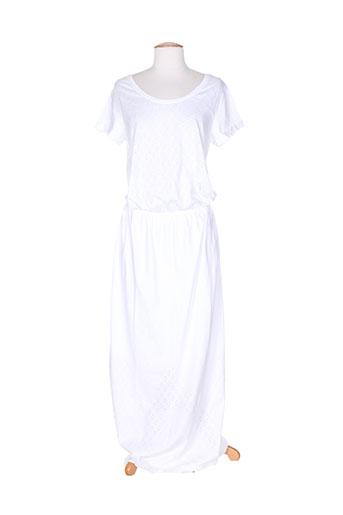 drolatic robes femme de couleur blanc
