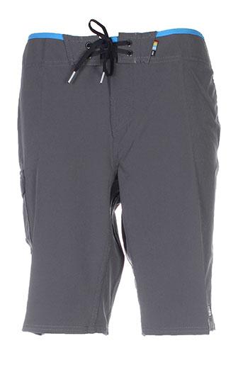 reef maillots de bain homme de couleur gris