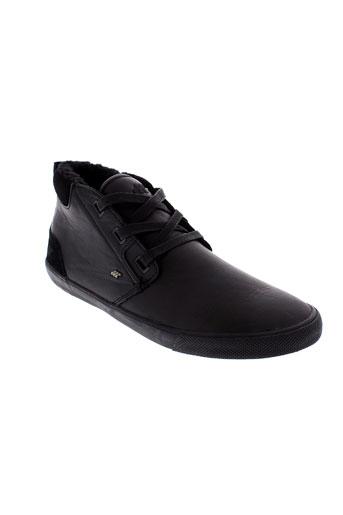 boxfresh chaussures homme de couleur noir