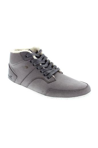 boxfresh chaussures homme de couleur gris