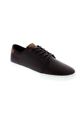 wesc chaussures homme de couleur marron