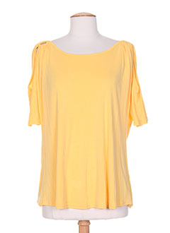 Produit-T-shirts / Tops-Femme-HALOGENE