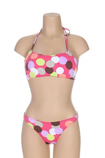 anastacia maillots de bain femme de couleur rose