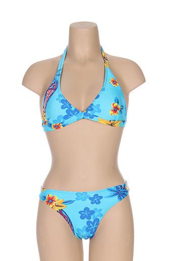 anastacia maillots de bain femme de couleur bleu