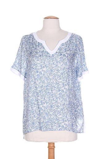 chatelet chemises femme de couleur bleu