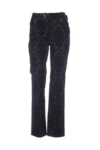 quattro pantalons et decontractes femme de couleur noir