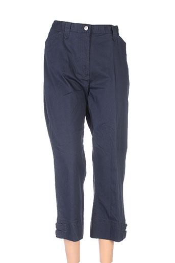 gerke my pants pantacourts femme de couleur bleu