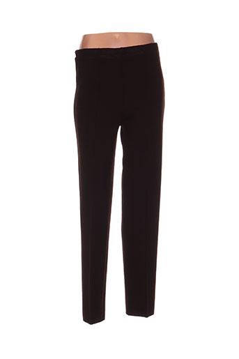 Pantalon casual marron CHASSAGNARD pour femme