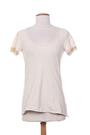 nana nucci t-shirts femme de couleur beige