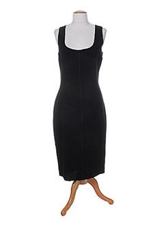 Robe mi-longue noir DOLCE & GABBANA pour femme