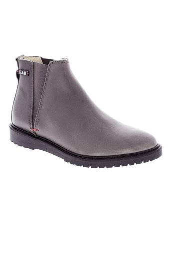 slam boots femme de couleur gris
