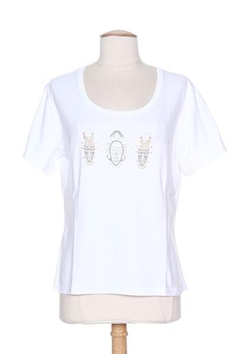 couleur d'ivoire t-shirts femme de couleur blanc