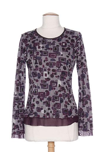 chrismas's chemises femme de couleur violet