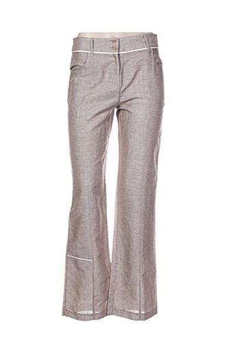 chrismas et s pantalons et decontractes femme de couleur beige
