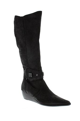 fidji bottes femme de couleur noir