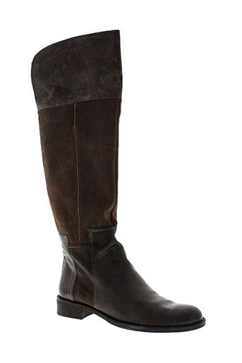 samoa bottes femme de couleur marron