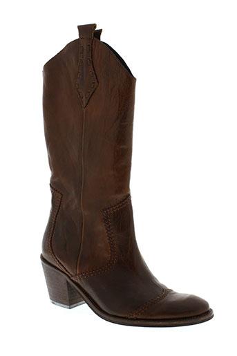 france mode chaussures femme de couleur marron