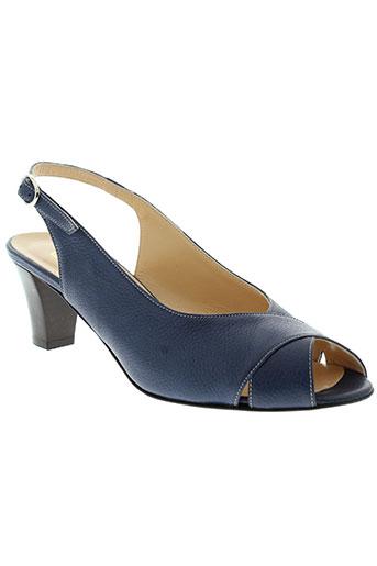 gioiello chaussures femme de couleur bleu