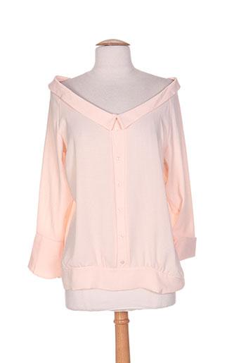 show girls chemises femme de couleur rose