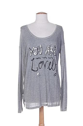 frogbox t-shirts femme de couleur gris