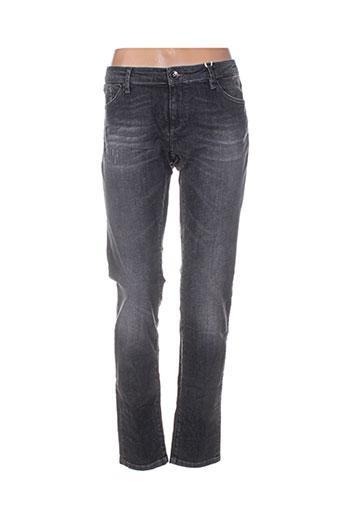 r95th jeans femme de couleur gris