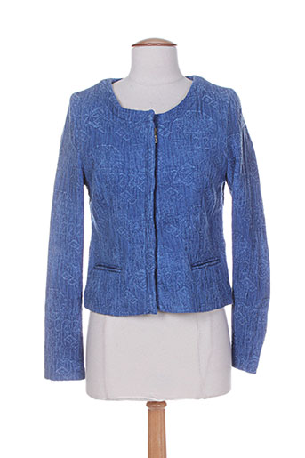 Veste en jean bleu MKT STUDIO pour femme