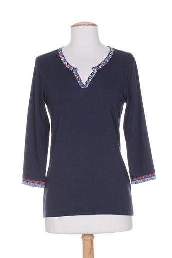 desaivre chemises femme de couleur bleu
