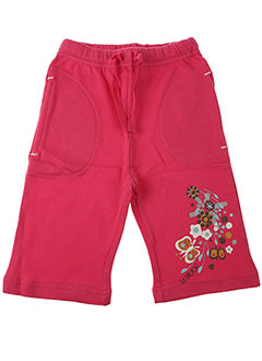 Pantalon casual rose LA TRIBBU pour fille